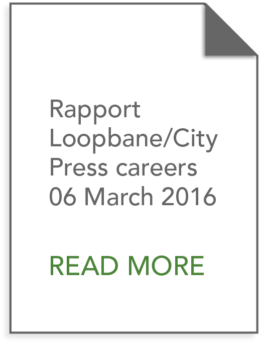 Rapport Loopbane/City Press careers 06 March 2016